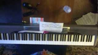 Gypsy Bard (on Piano) W/ Sheet Music