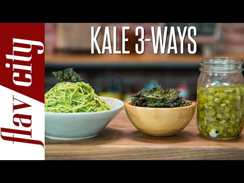 Video Creative Kale Recipes - Kale Dishes