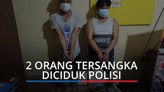 Tim Opsnal Mata Elang Sat ResNarkoba Polres Pariaman Ciduk 2 Orang Diduga Bertransaksi Narkoba
