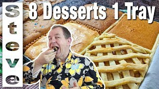 8 DESSERTS 1 TRAY - Can it be Done ?