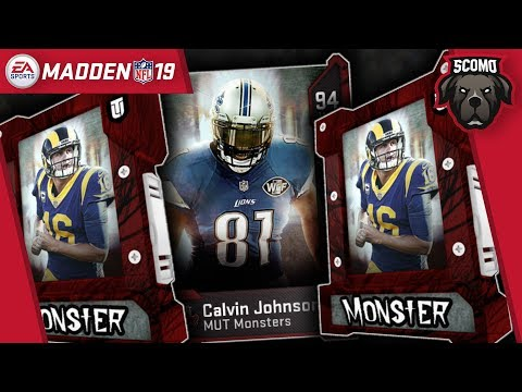 Most Feared Promo Is Live! Packs Solos & Sets! Maden NFL 19