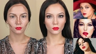 Смотреть онлайн Как сделать красивый вечерний макияж дома
