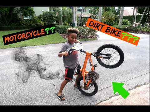 How to make your bike sound like a MOTORCYCLE/DIRTBIKE!!
