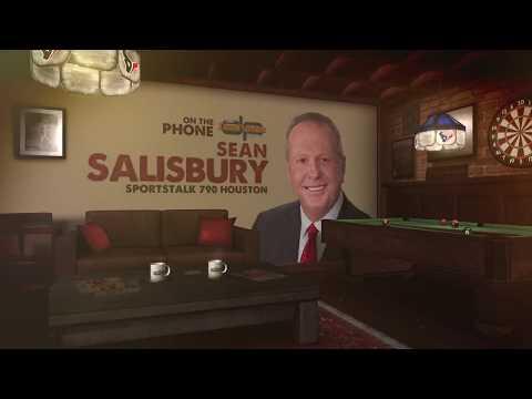 Sean Salisbury Talks Texans, Jaguars & More with Dan Patrick | Full Interview | 11/27/18