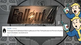 SH*T PEOPLE SAY ABOUT FALLOUT 4 - The