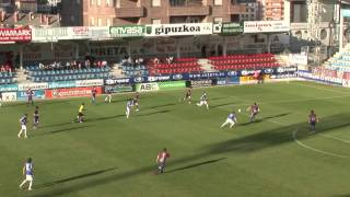 preview picture of video 'Eibar 2-0 UD Logroñes Resumen del partido. Jornada 33 Grupo II Segunda B.'
