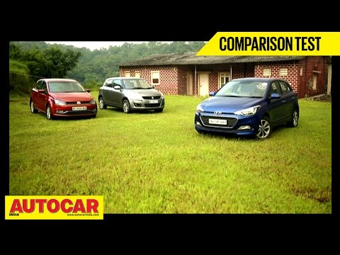 Hyundai Elite i20 VS Maruti Suzuki Swift VS Volkswagen Polo | Comparison Test - Maruti Videos
