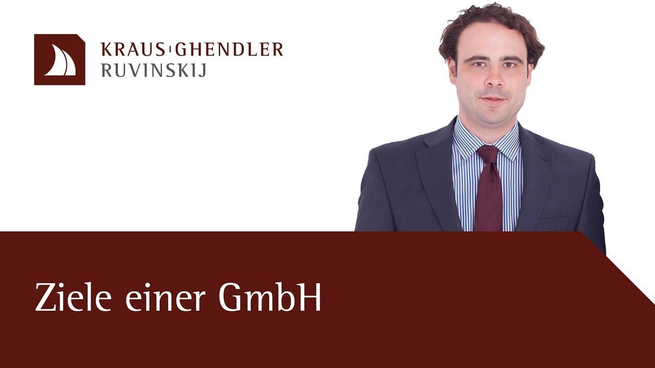 Ziele einer GmbH