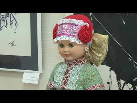Юных курян учили мастерить куколки-кувадки