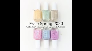 Essie Spring 2020: Review, Live Swatches And Comparisons