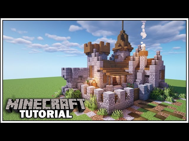 Minecraft Castle Ideas How To Build A Castle In Minecraft Using