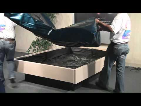 Sterling Sleep Systems Hardside Waterbed Insturctional Setup Video