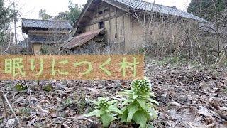 廃村の足音が響く村石川県七尾市柑子町限界集落
