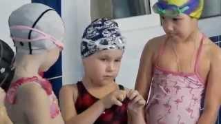 Детская тренировка по плаванию. Группа 4+