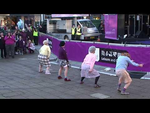 &quotThe Dancing Grannies&quot strut their stuff in Stafford