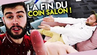 ON A TERMINE LE COIN PRINCIPAL DU LOCAL AVEC LE DOC ET LES KABS !