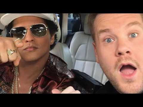 Bruno Mars Carpool Karaoke! Very funnny! I love Bruno