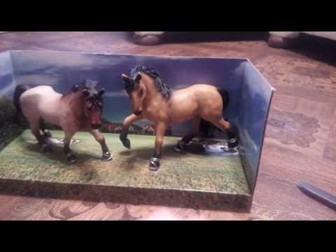Обзор на лошадок (Schleich) Farmlife