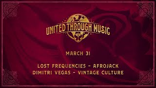 Dimitri Vegas, Afrojack, Lost Frequencies and Vintage Culture - Live @ Tomorrowland United Through Music Week 1 2020