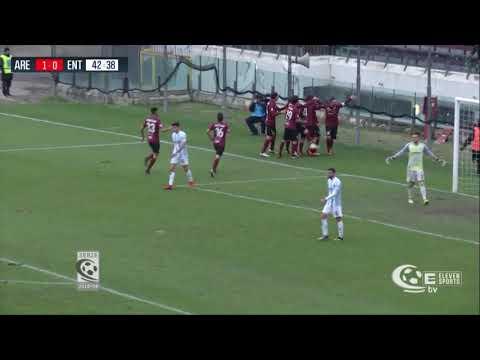 Arezzo-Virtus Entella 2-2, la sintesi della partita
