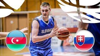 Azerbaijan v Slovakia - Full Game - Class 17-22 - FIBA U20 European Championship Division B 2018 | Kholo.pk