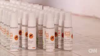 FLORE AROMA on CNN Fighting Madagascar's mosquitoes with all natural oils