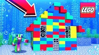 BUILDING AN UNDERWATER LEGO HOUSE!