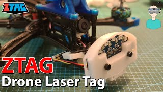 First Drone Laser Tag System - ZTAG Overview & Setup