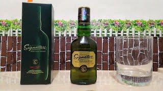 #signaturewhiskey#taste#price Signature rare aged || Whiskey review ||