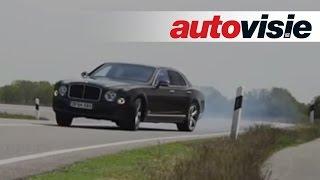 Bentley Mulsanne Speed drift slow motion - by Autovisie TV