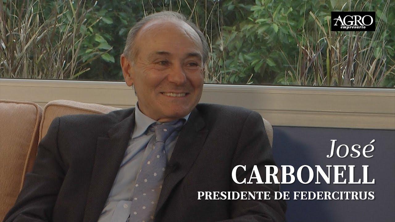 José Carbonell - Presidente de Federcitrus