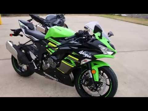 2019 Kawasaki Ninja ZX-6R in La Marque, Texas - Video 1