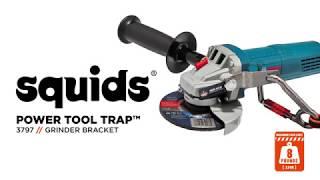 Squids 3797 Power Tool Bracket – Grinder Tool Trap