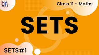 Set Concept and Conventions | Sets #1 | Class 11 Maths Chapter 1