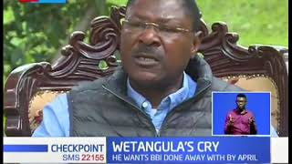 Why Senator Moses Wetangula is calling for probe in Bungoma County