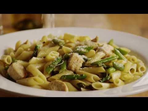 How to Make Chicken and Asparagus Pasta | Pasta Recipes | Allrecipes.com