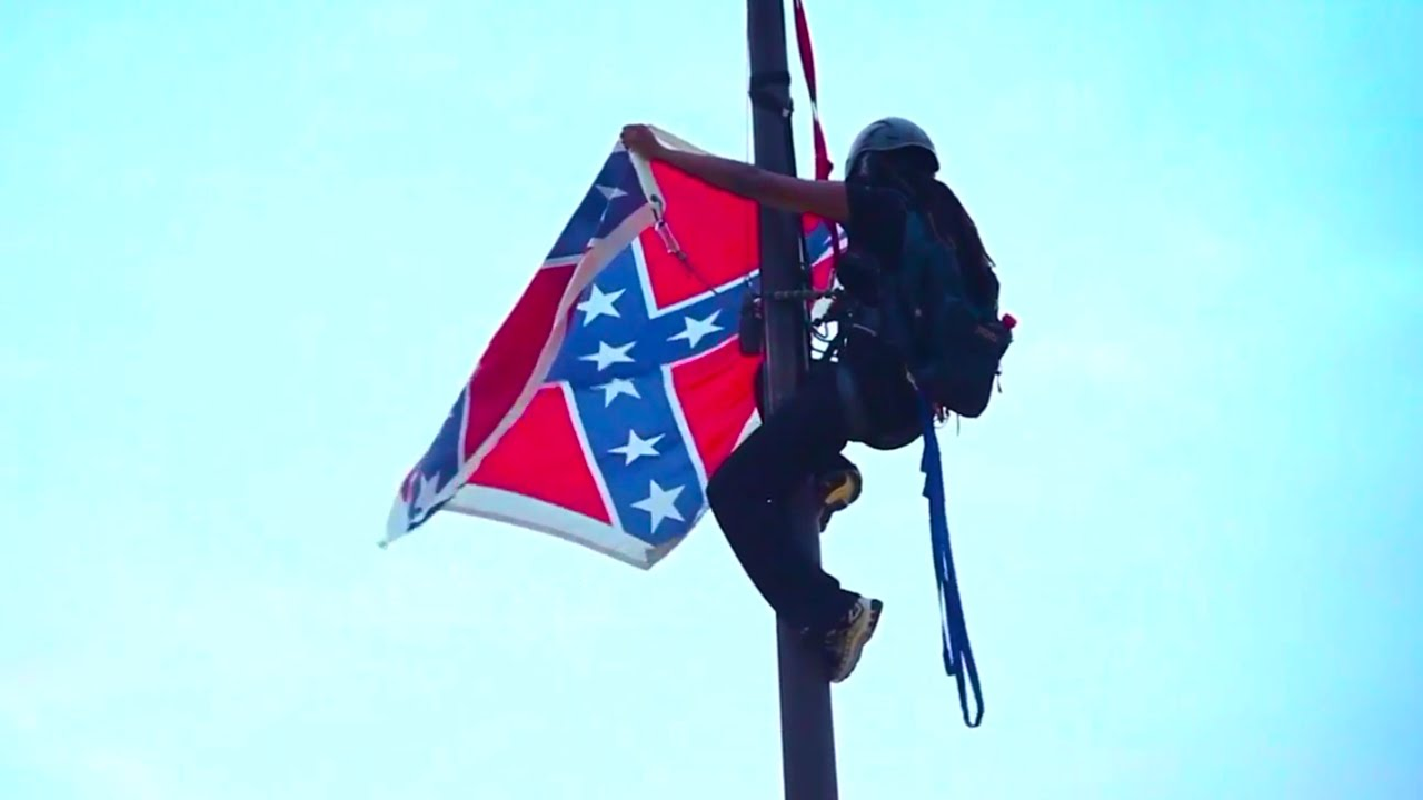 Bree Newsome Risks Life To Cut Down Confederate Flag thumbnail