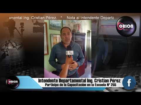 Nota al Intendente Departamental Ing. Cristian Pérez.