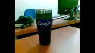 preview picture of video 'Qik - My Complimentary Google Travel Mug by Asif Anwar'