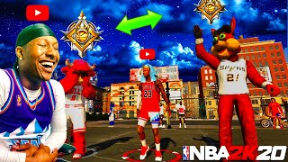Two MASCOTS hit LEGEND at the SAME TIME on NBA 2K20! FUNNIEST LEGEND REACTION IN 2K HISTORY!