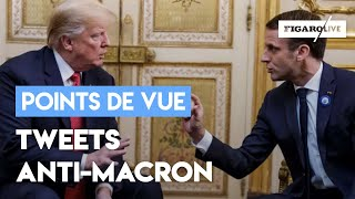 Quand Trump tâcle Macron sur Twitter