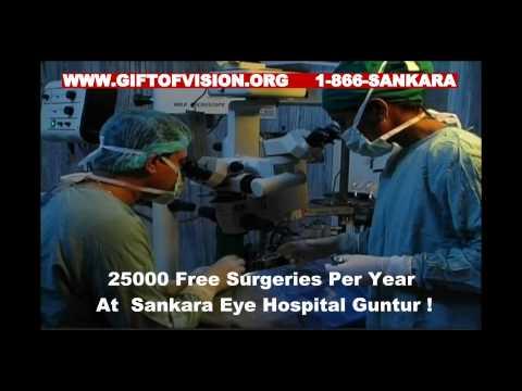Sponsor eye surgery & eradicate blindness in India