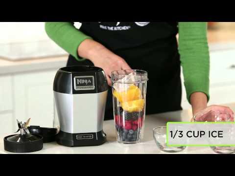 Video Fruit Smoothie Recipe by Nutri Ninja® | Berries Galore Drink