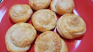 Bakarkhani Made Out Of Frozen Paratha/ Ramadan Iftar Recipe