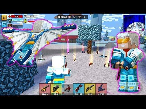 Pixel Gun 3D - Epic Battle Royale Battle (Aero Suit / Zack Barret / Alpenstock ) TOP 1