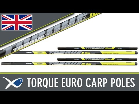 Matrix Torque Euro Carp Pole Top Kits & Sections Rakósbot Kiegészítők videó