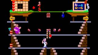 Arcade Game: Popeye (1982 Nintendo)