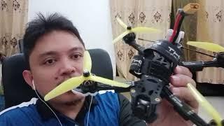 Tuning fpv drone 5 inch betaflight 4.1.2