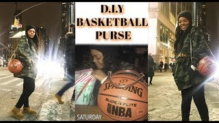 D.I.Y BASKETBALL PURSE | PERFECT GIFT IDEA !