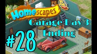 HOMESCAPES Gameplay Story Walkthrough Part #28   Garage Area Day 3 Ending